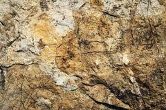 Detail van roestige kalksteenrotsen Royalty-vrije Stock Afbeeldingen
