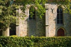 Detail van roman kerk Stock Fotografie