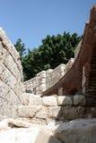 Detail van Romein amphitheatre in Alexandrië Royalty-vrije Stock Foto's
