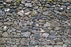 Detail van rotsen in een droge steenmuur Royalty-vrije Stock Afbeeldingen