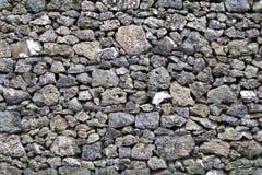 Detail van rotsen in een droge steenmuur Royalty-vrije Stock Afbeelding