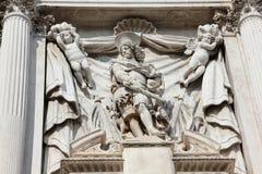 Detail van Santa Maria Zobenigo Royalty-vrije Stock Foto's