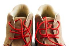 Detail van schoeisel stock foto