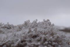 Detail van sneeuw in wintertijd Royalty-vrije Stock Foto