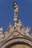 Detail van St Tekenkathedraal in Venetië Itay royalty-vrije stock foto's