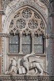 Detail van St Tekenkathedraal in Venetië Itay royalty-vrije stock foto