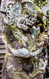 Detail van standbeeld bij Besakih-tempel, Bali, Indonesië royalty-vrije stock afbeelding