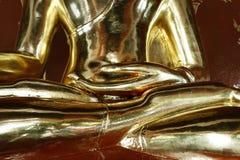 Detail van standbeeld van Boedha Stock Fotografie