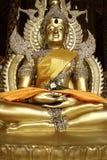 Detail van standbeeld van Boedha Stock Afbeelding