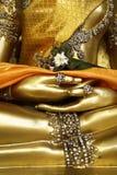 Detail van standbeeld van Boedha, Royalty-vrije Stock Foto