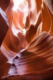 Detail van texturen in Antilopecanion, de V.S. Stock Foto