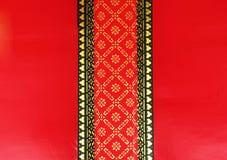 Detail van Thais tempelplafond Royalty-vrije Stock Foto
