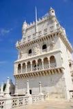 Detail van Torre DE Belém royalty-vrije stock fotografie