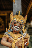 Detail van traditioneel Balinees beeldhouwwerk Stock Foto's