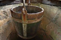 Detail van trekken-put Stock Foto's