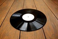 Detail van vinylverslag Stock Fotografie