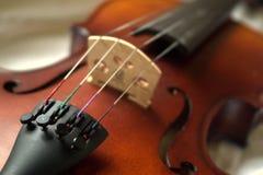 Detail van viool stock foto's