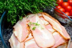 Detail van voedselvoorbereiding Royalty-vrije Stock Fotografie