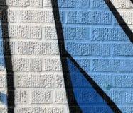 Detail van Vrij slag Geschilderde Muur stock foto