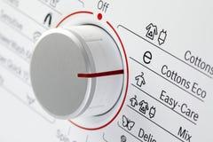 Detail van wasmachine Royalty-vrije Stock Foto's