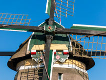 Detail van windmolen, Holland Royalty-vrije Stock Fotografie