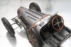 Detail van zeer oude auto Stock Afbeelding