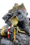 Detail van zitting Ganesha openlucht, staal Royalty-vrije Stock Foto's
