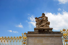 Detail of Versailles palace Stock Image