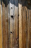 Detail of Vertical wood siding Stock Images