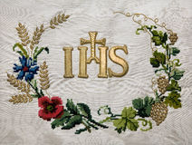Detail of vestment Stock Photography