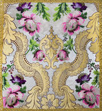 Detail from vestment Royalty Free Stock Photography