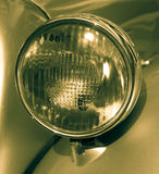 Detail of a veteran car Stock Photo