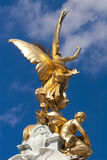 Detail of the Victoria Memorial, Buckingham Palace Royalty Free Stock Photography