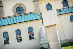 Detail view of the Basilica of Saint Cyrillus and Methodius in V Royalty Free Stock Photography