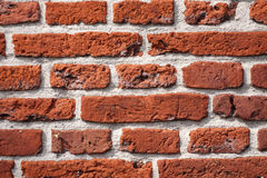 Detail view of a brick wall Royalty Free Stock Image