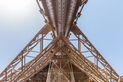 Detail view of Eiffel Tower Stock Photos