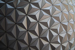 Detail view of Epcot dome Stock Photo