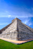 Detail view of famous Mayan pyramid in Chichen Itza Royalty Free Stock Photos