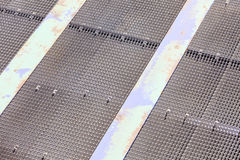 Detail view of ferry boat ramp Stock Image