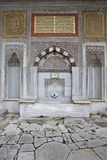 Detail view from III. Ahmet Fountain, Istanbul. Turkey Stock Images