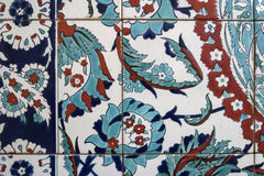 Detail view of Iznik tiles, Istanbul Stock Images
