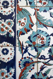 Detail view of Iznik tiles, Istanbul Stock Photos