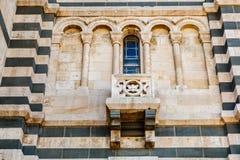 Detail View of Notre-Dame de la Garde in Marseilles Stock Photos