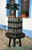 Garden grape press royalty free stock photos
