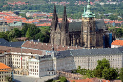 Detail View of Prague city Stock Photo
