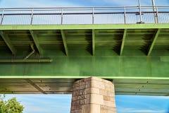Detail view of the Rhine bridge Royalty Free Stock Photo