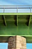 Detail view of the Rhine bridge Stock Photo