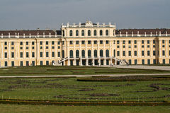Detail view of Schonbrunn Palace, Vienna. The Schonbrunn Palace, Vienna, Austria Stock Images