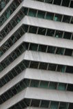 Detail view of a skyscraper Royalty Free Stock Photography