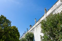 Detail of the Villa Cordellina Lombardi in Montecchio Maggiore,. Veneto, Italy stock photography
